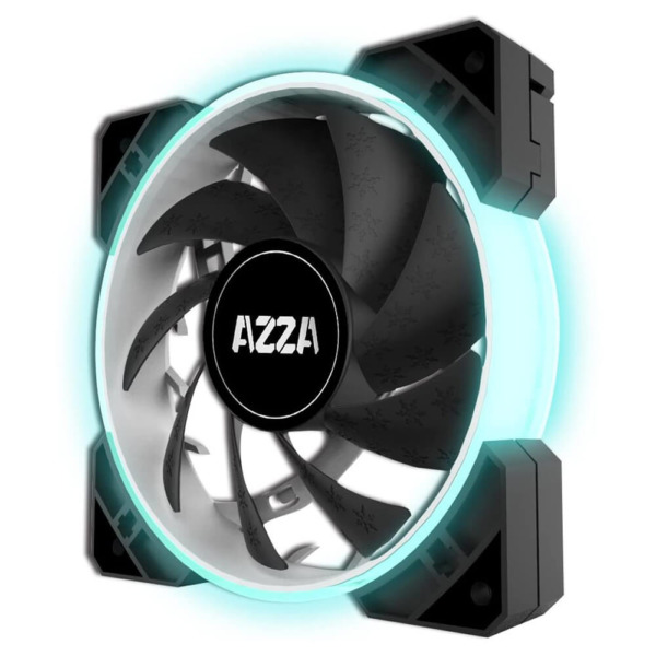 AZZA Hurricane 120MM RGB Single Fan - Black