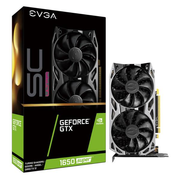 EVGA GeForce® GTX 1650 Super SC ULTRA GAMING 4GB GDDR5