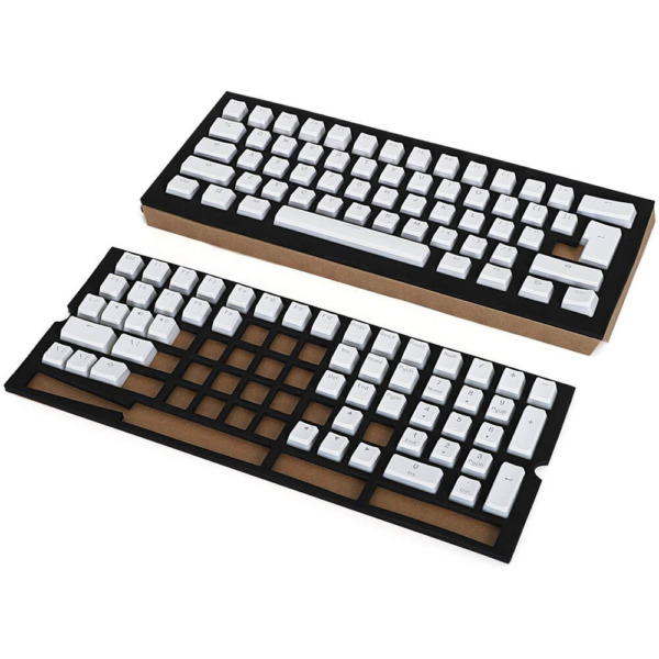 RK ROYAL KLUDGE 112 Double Shot PBT Pudding Keycaps