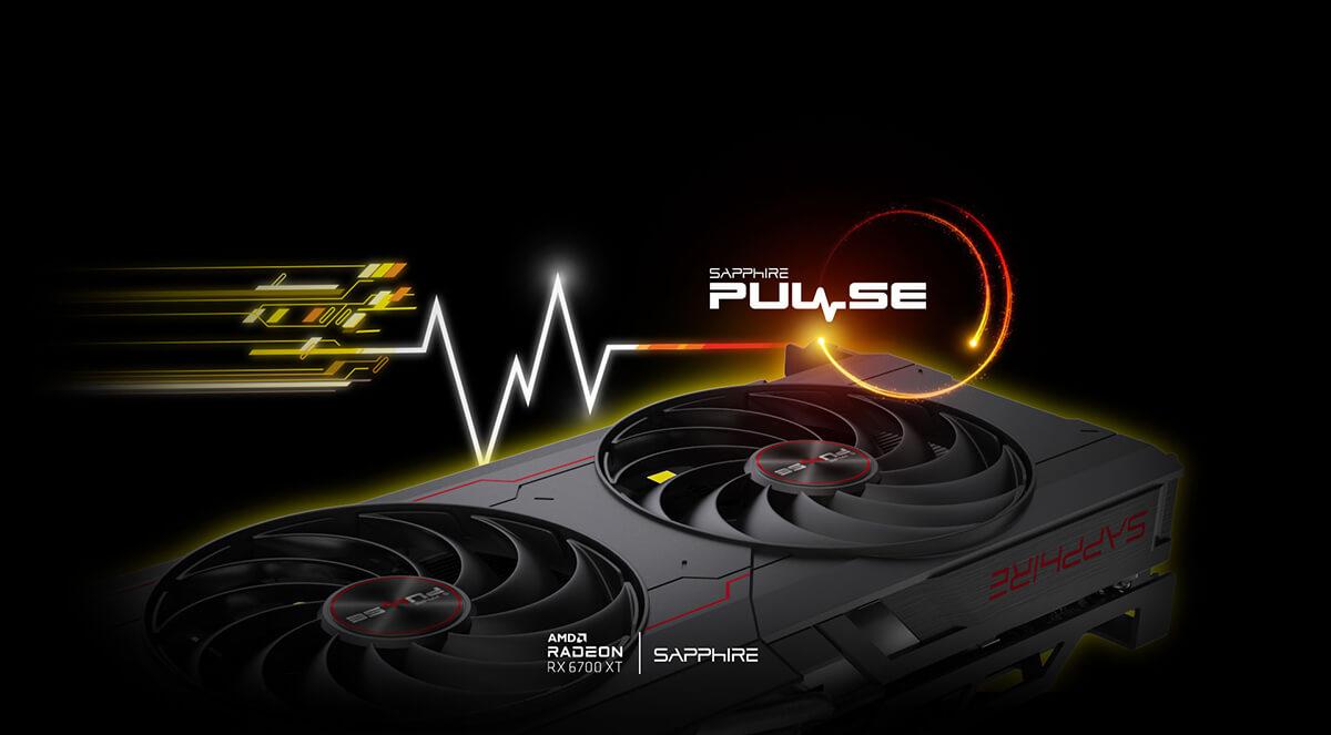 Sapphire PULSE AMD Radeon™ RX 6700 XT Gaming 12GB GDDR6