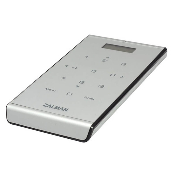 Zalman VE400 Silver - Vitual Drice + External HDD Box