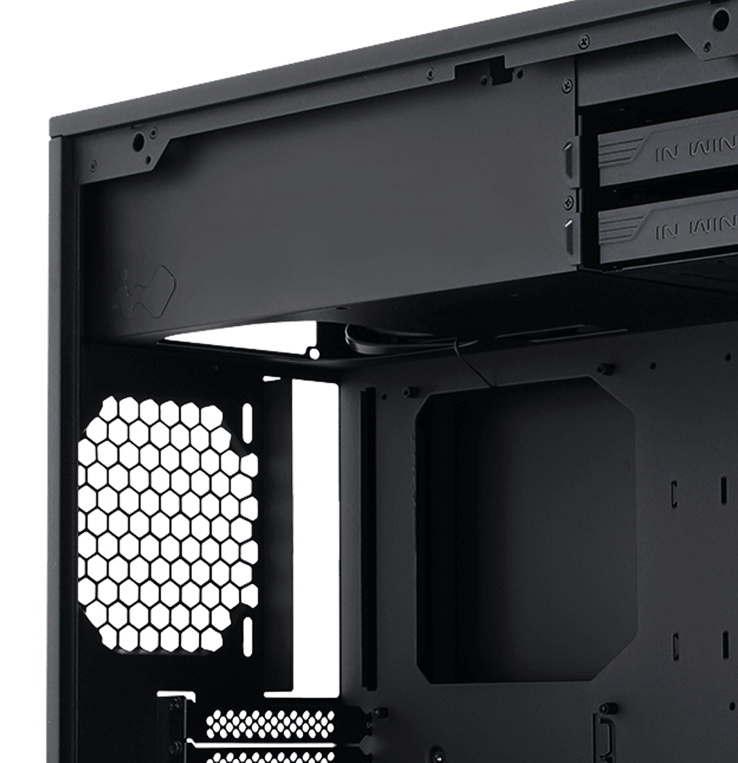 In-Win 103 White - Full Side Tempered Glass Mid-Tower Case