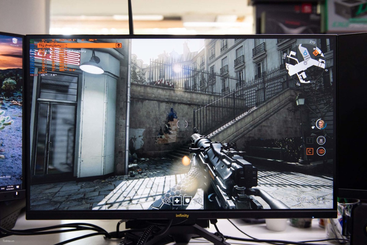 Infinity Clear Ultra - 27 inch 2K IPS / 165Hz / HDR / Chuyên Game
