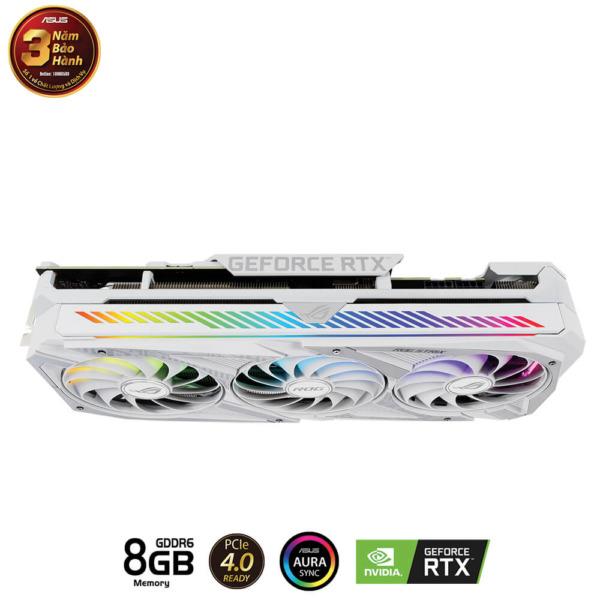 Asus ROG Strix GeForce RTX™ 3070 White OC Edition 8G GDDR6