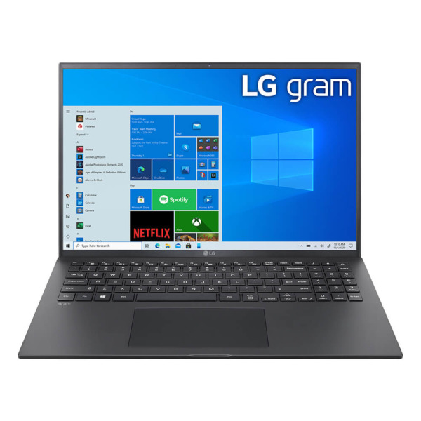 "Laptop LG Gram 2021 16"" (16Z90P-G.AH75A5) - i7 Gen 11th / 16GB / 512GB / Intel® Iris® Xe Graphics"