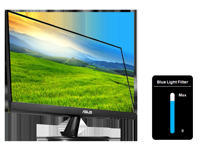 Asus VP229HE - 21.5 inch - FHD IPS - Frameless - 75Hz