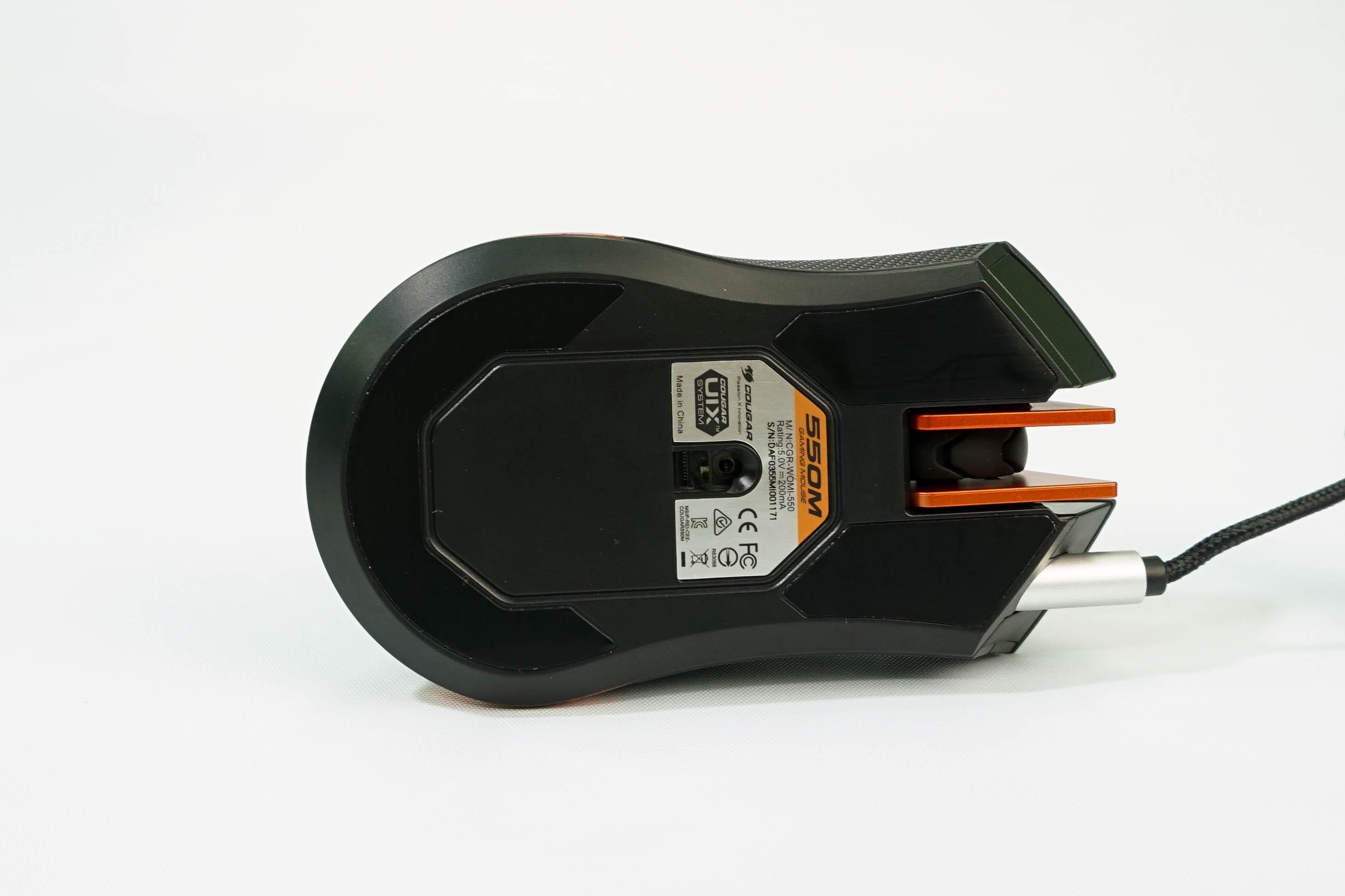Cougar 550M Iron Grey RGB Led - Ultimate Optical Gaming Mouse