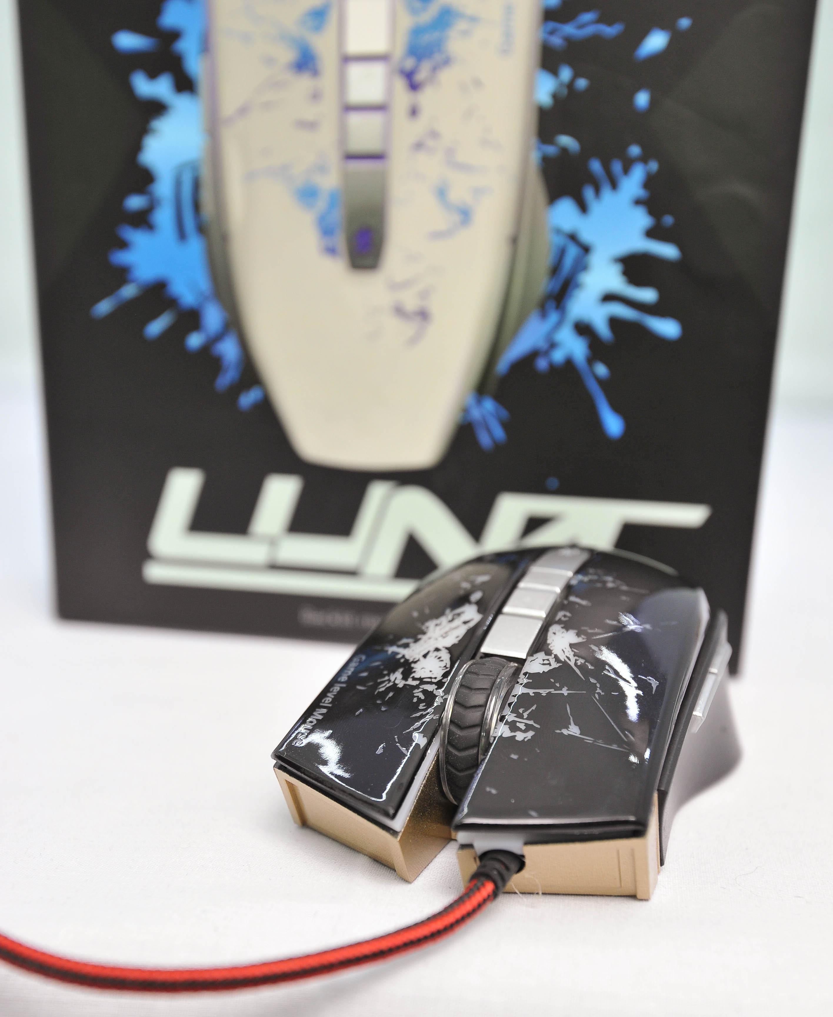 Infinity Luna Black - 2400 DPI Gaming Mouse