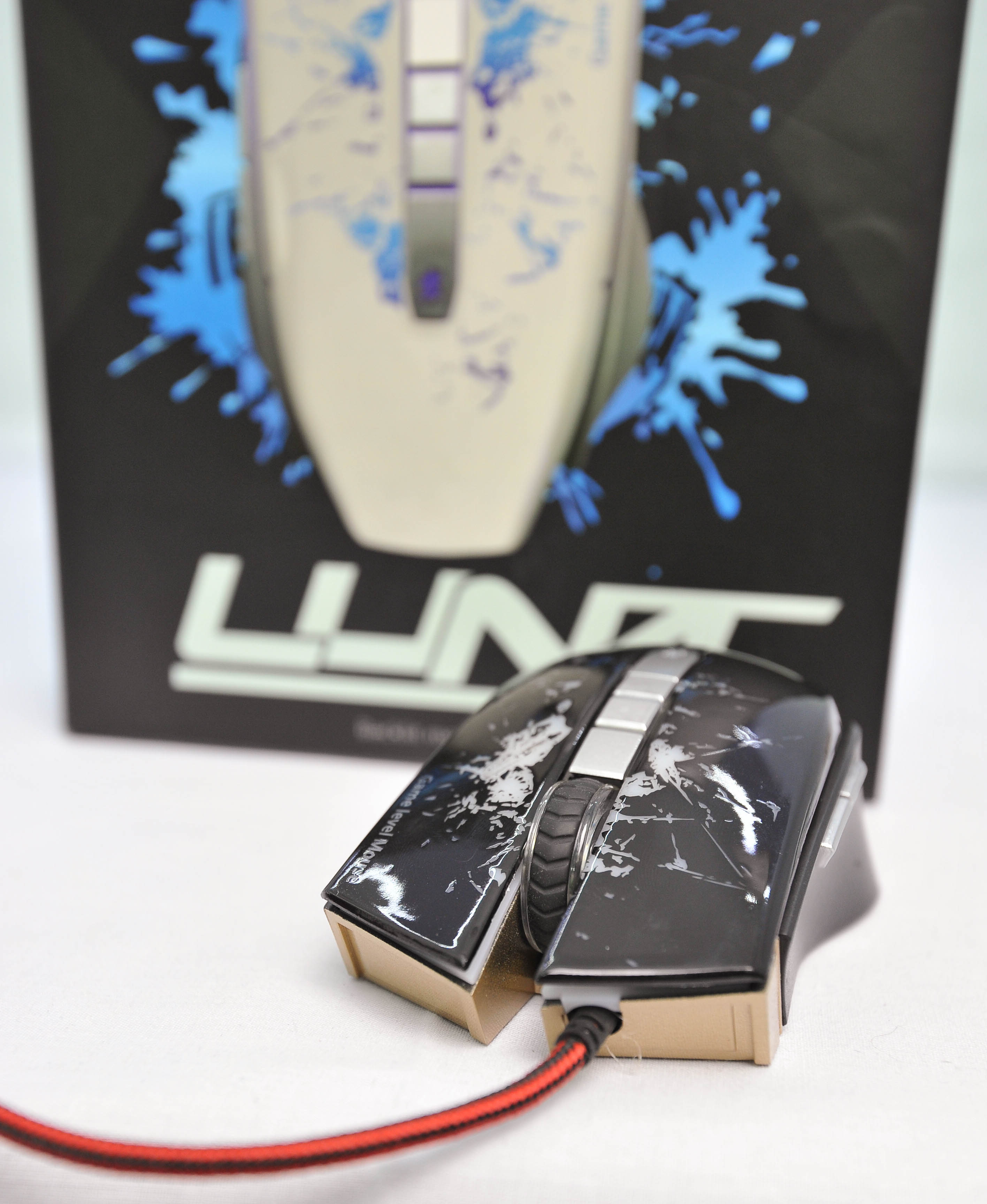 Infinity Luna White - 2400 DPI Gaming Mouse