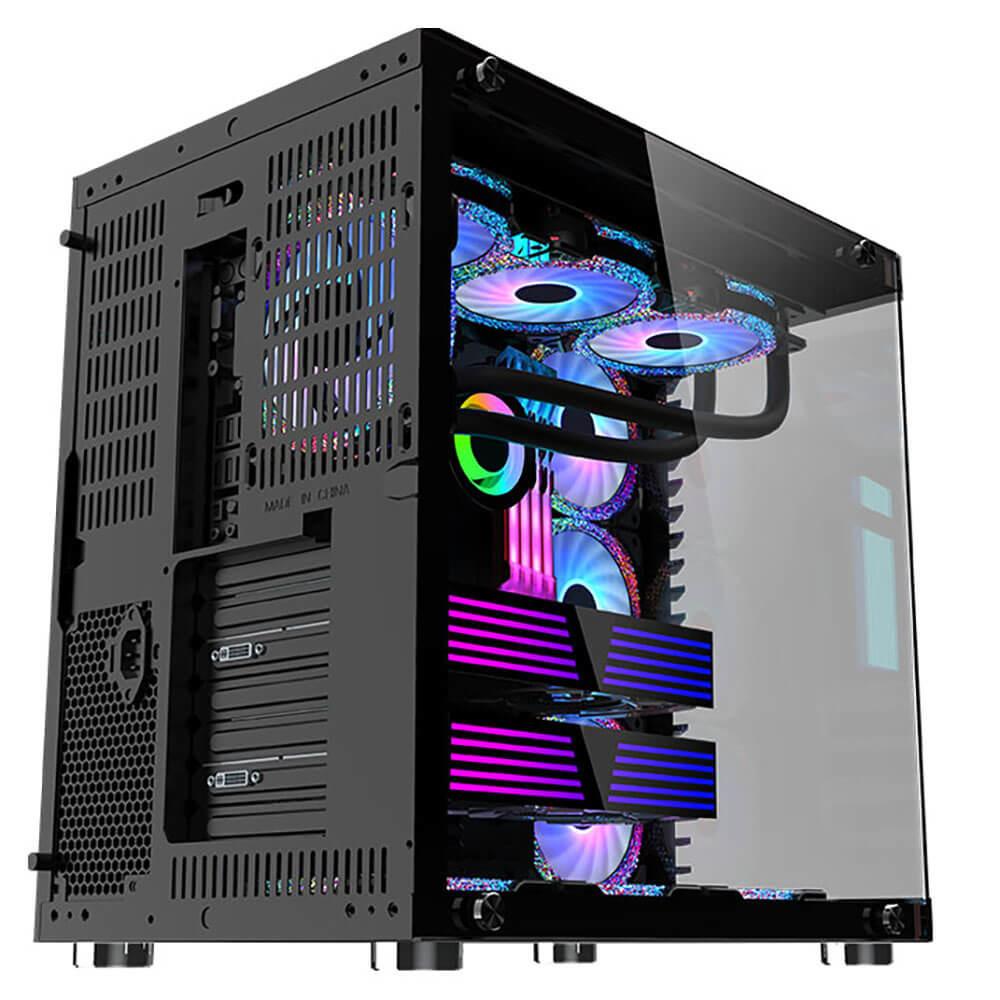 MIK LV07 - Black - Mid Tower Case