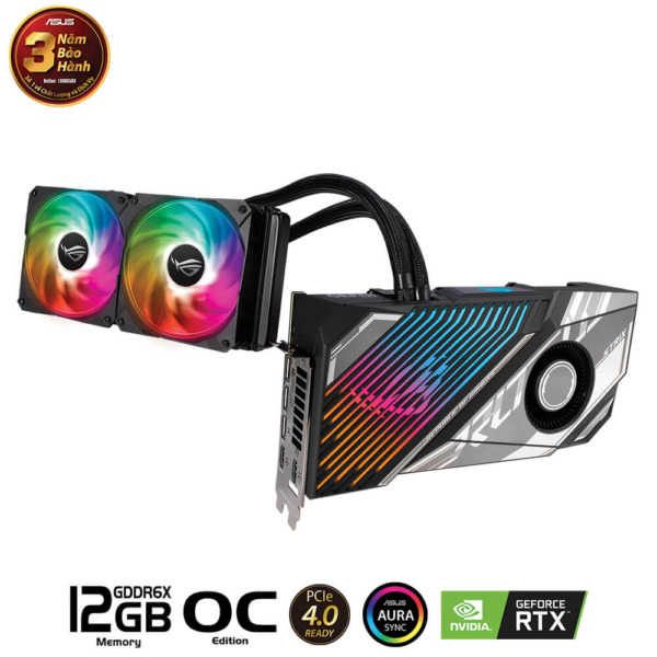 Asus Rog Strix Liquid Cooled GeForce RTX™ 3080Ti OC 12GB GDDR6X