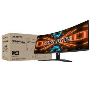 """Gigabyte Gaming G34WQC - 34"""" 144Hz VA Curve QHD"""