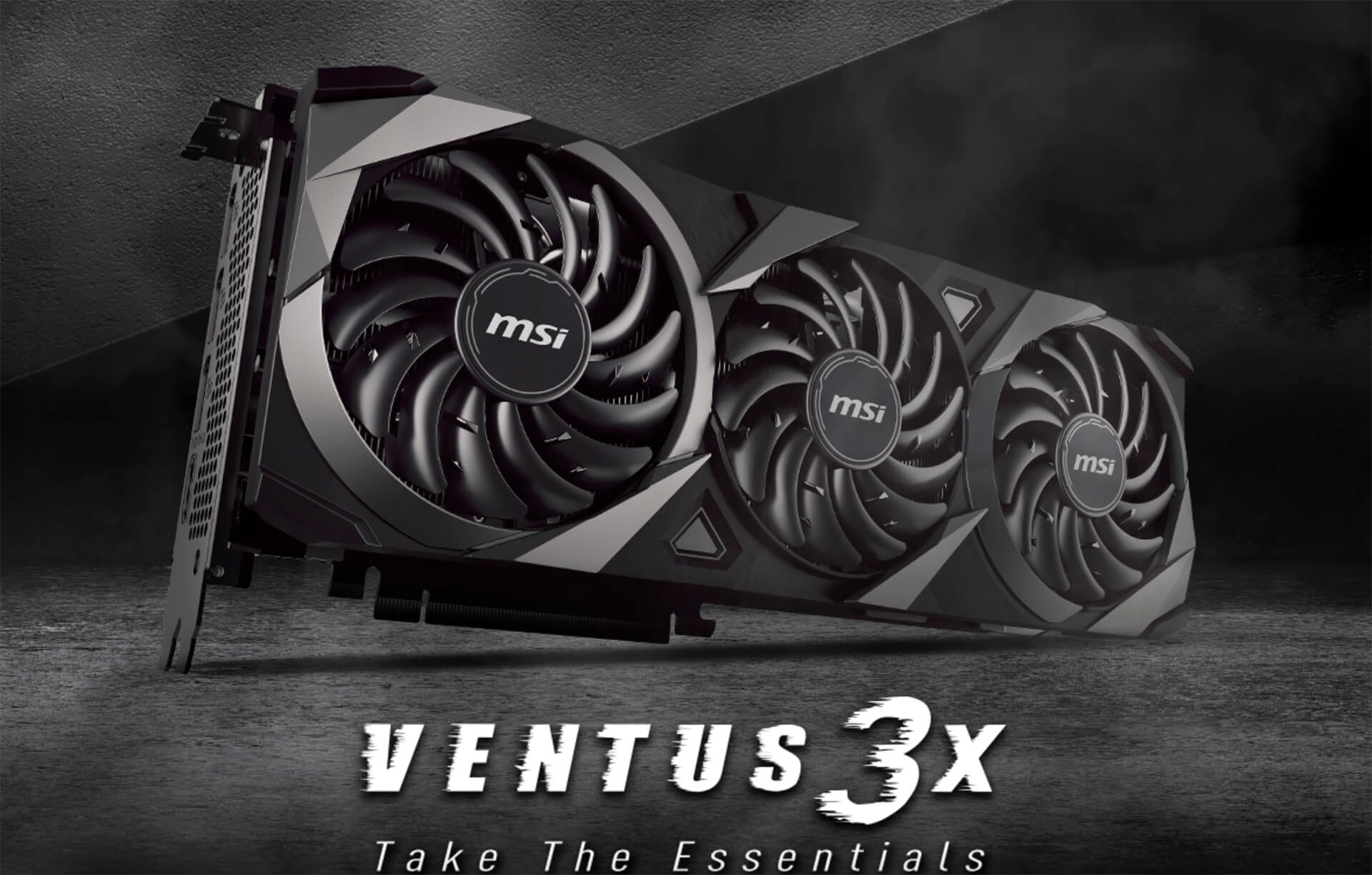 MSI GeForce RTX™ 3070Ti VENTUS 3X 8GB GDDR6X