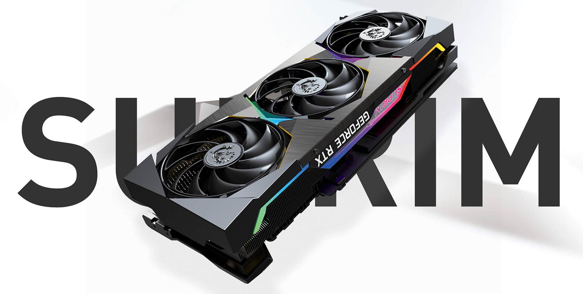 MSI GeForce RTX™ 3080Ti SUPRIM X 12GB GDDR6X