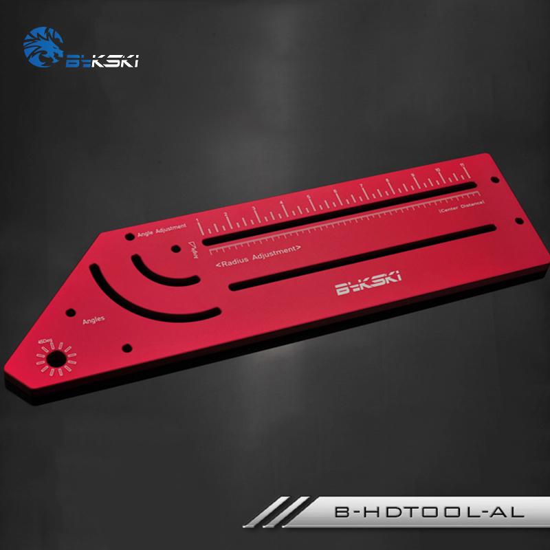 Bykski Rigid Tube Bending Tool - B-HDTOOL-AL Red