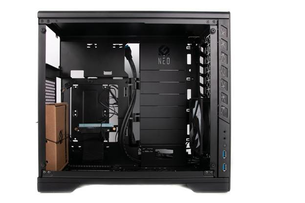Metallic Gear Neo G Mini ITX Black Tempered Glass - Full Aluminium Case