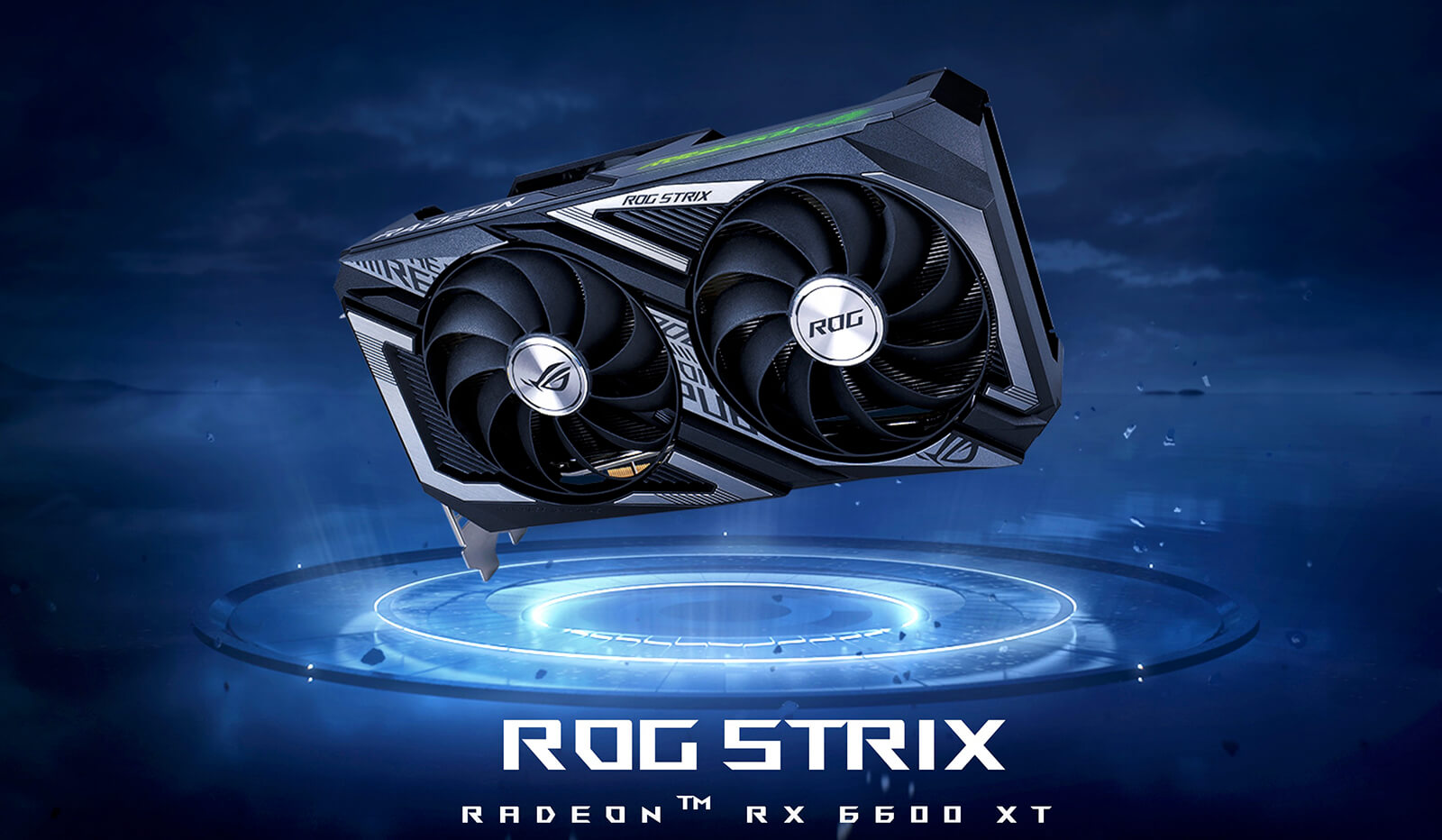 Asus ROG Strix Radeon™ RX 6600 XT OC Edition 8GB GDDR6